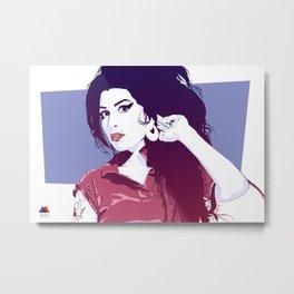 Amy Amy Amy Metal Print