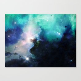 π Okul Canvas Print