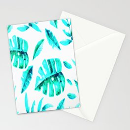 BLUE-TROPICAL Stationery Cards