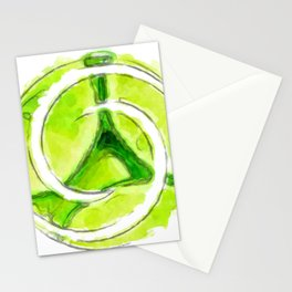 A twist of lime (lite) Stationery Cards