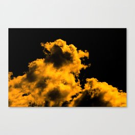 A little touch of bitterness (all yellow) Canvas Print
