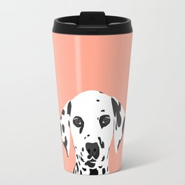 Casey - Dalmation art print phone case decor for pet lover and dog lover Travel Mug