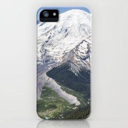 Mount Rainier on the Sunrise Side iPhone Case