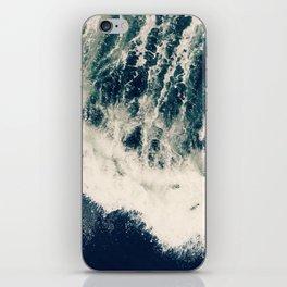 The Ocean Roars iPhone Skin