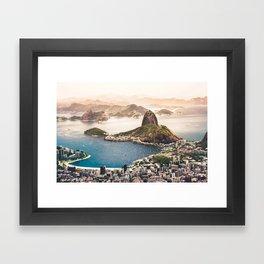 Rio de Janeiro Brazil Framed Art Print