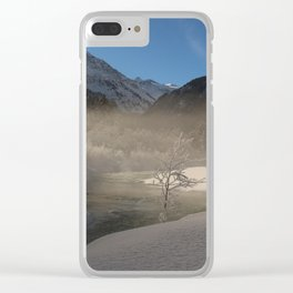 The Magic Of Winter Clear iPhone Case