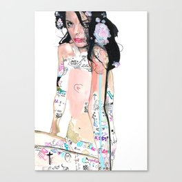 Daddy used to love mommy Canvas Print