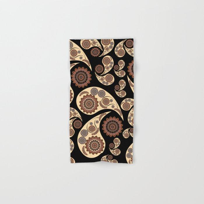 Paisley Pattern Hand & Bath Towel