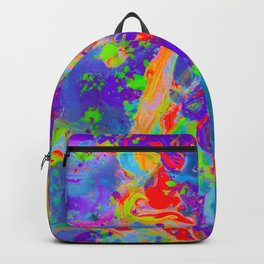 abstract paint gradient 0712 Backpack