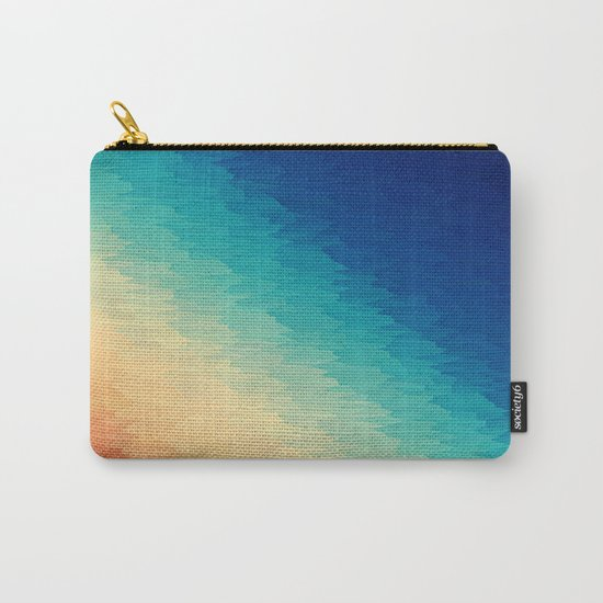 Warm to Cool Texture Carry-All Pouch