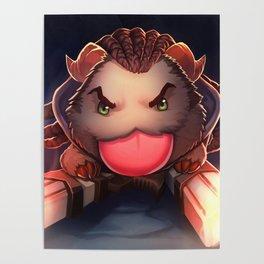 Lucian Poro League Of Legends Poster