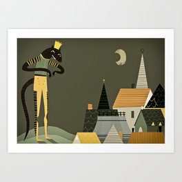 rat king Art Print