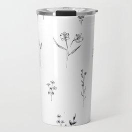 Wildflowers BIG Travel Mug