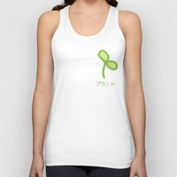 plant Tank Tops featuring Plant by Kitastrofe
