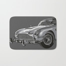 THE Bond Car. Bath Mat