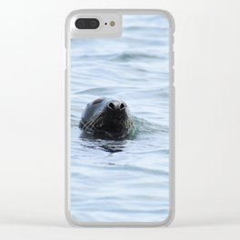 UNDERCOVER dog Clear iPhone Case