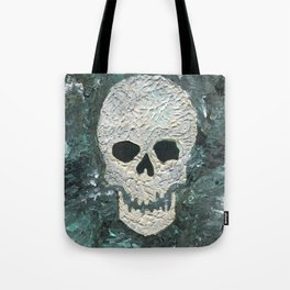 Large Skull Painting Tote Bag
