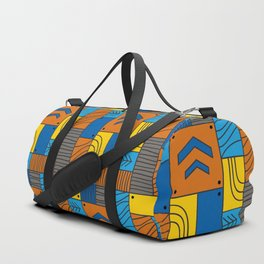 Pattern: abstract forest Duffle Bag