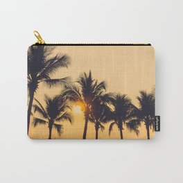 Good Vibes #society6 #palm trees Carry-All Pouch