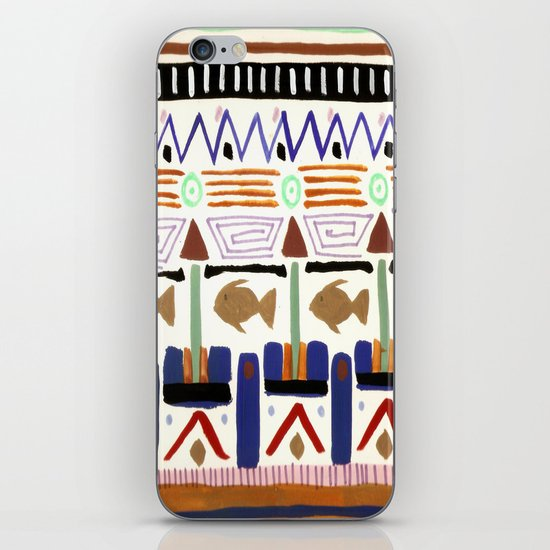 Pattern 004 iPhone & iPod Skin