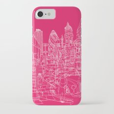 London! Hot Pink iPhone 7 Slim Case