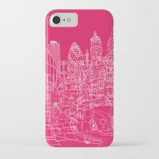 London! Hot Pink Slim Case iPhone 7