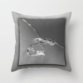 Rope in water Throw Pillow