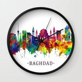 Baghdad Iraq Skyline Wall Clock