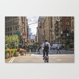 Flatiron District Canvas Print