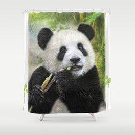 Panda Baby Shower Curtain