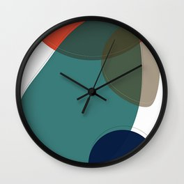 Abstract 2019 001 Wall Clock
