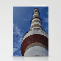 thanos Stationery Cards featuring tower by Thanos Charisis-Photography