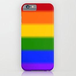 Rainbow Gay Pride Flag iPhone Case
