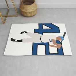 Jackie Robinson Minimalism Art Rug