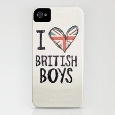 One Direction - I love British boys iPhone (4, 4s) Slim Case
