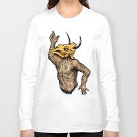 taurus Long Sleeve T-shirts featuring Taurus by sociopteryx