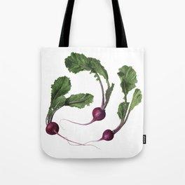 Scarlet Turnips Tote Bag