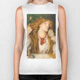 "Dante Gabriel Rossetti ""A woman combing her hair"" Biker Tank"