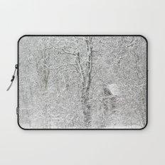 First snow Laptop Sleeve