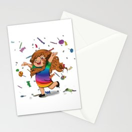 Pioggia caramelle Stationery Cards