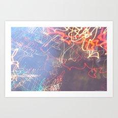 Dead Set Motion VI. Art Print