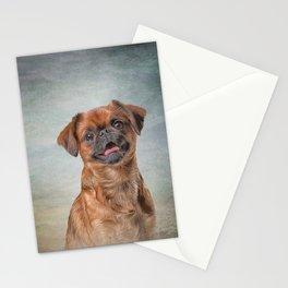 Drawing Dog breed Griffon Brabanson Stationery Cards