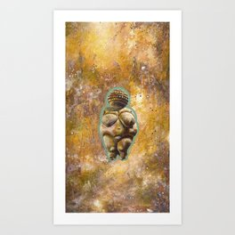 Venus of Wellendorf Art Print
