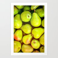 PEARS - for iphone Art Print