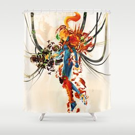 Day One Shower Curtain