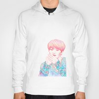 shinee Hoodies featuring SHINee Taemin by sophillustration