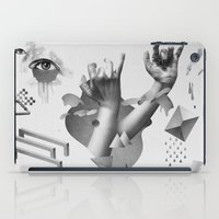 hands iPad Cases featuring Hands by Oh Yeah Studio
