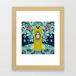 The Horse Chestnut {Night} Framed Art Print