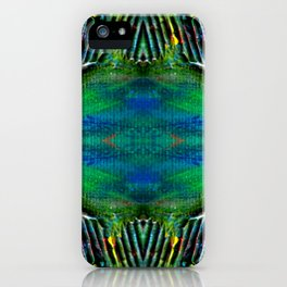 Textured Eye, View 2 iPhone Case