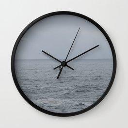 Buoy off of Depoe Bay Wall Clock